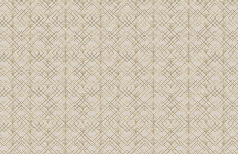 2-gold-art-deco-geometric-repeat-pattern-wallpaper-Plain
