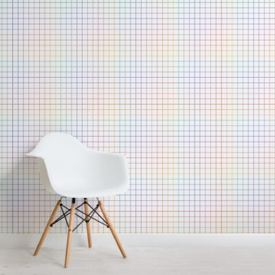 2-multicolour-geometric-grid-repeat-pattern-wallpaper-Plain