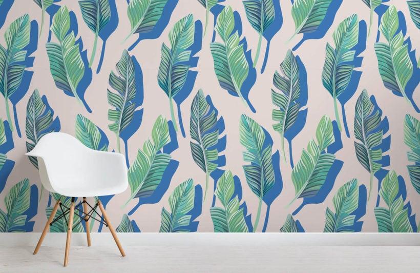3d-leaf-tropical-design-room-wall-murals