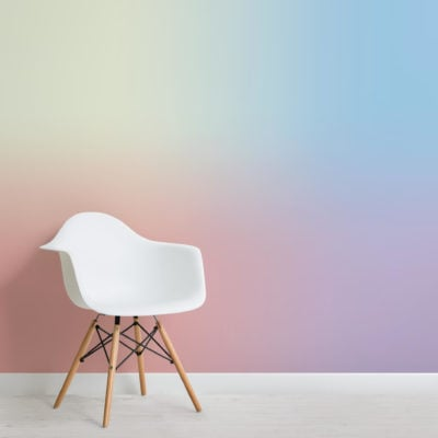 Abstract Rainbow Wallpaper Mural