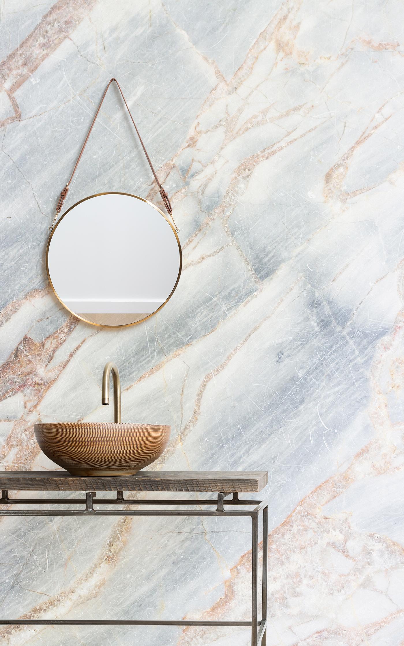 bronze cracked marble wallpaper