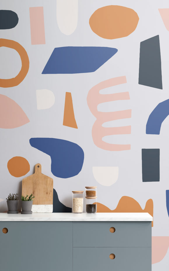 Matisse Cutout Shape Wallpaper