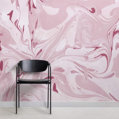 Drift-Pink-Marbled-Wallpaper