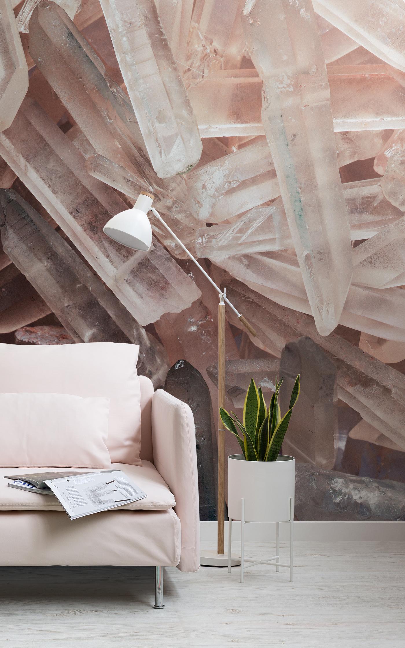 rose crystal wallpaper