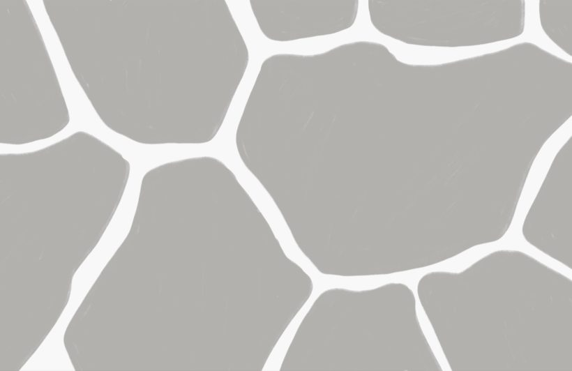 Grey Giraffe Print Wallpaper Mural