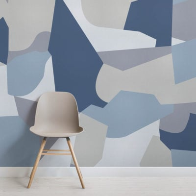 Guirand de Scévola-abstract camo-square-wall mural-kj
