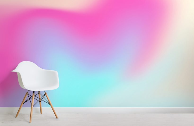 pink bright gradient wallpaper