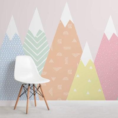 kids-patterned-mountains-wallpaper