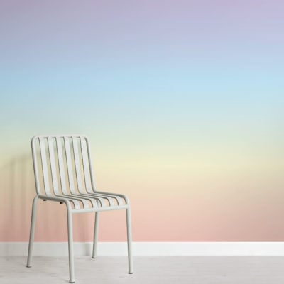 Rainbow Ombre Wallpaper Mural