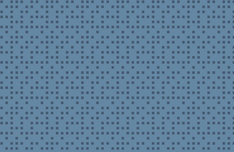 Small Blue Squares Pixel Style Wallpaper Mural