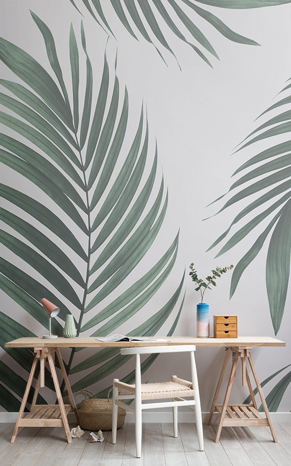 Tropical Palm Wallpaper Mural Image