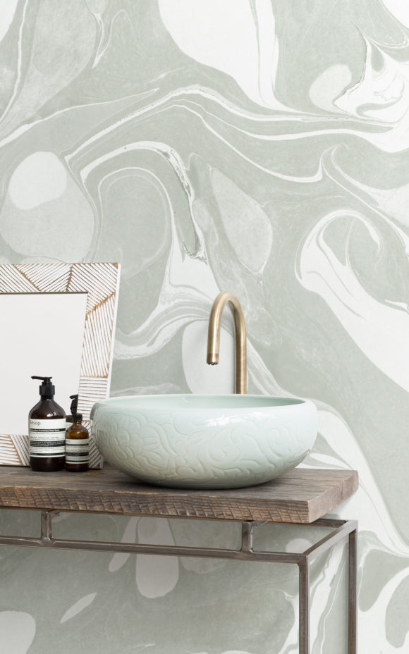 Swish-Sage-marbled-wallpaper