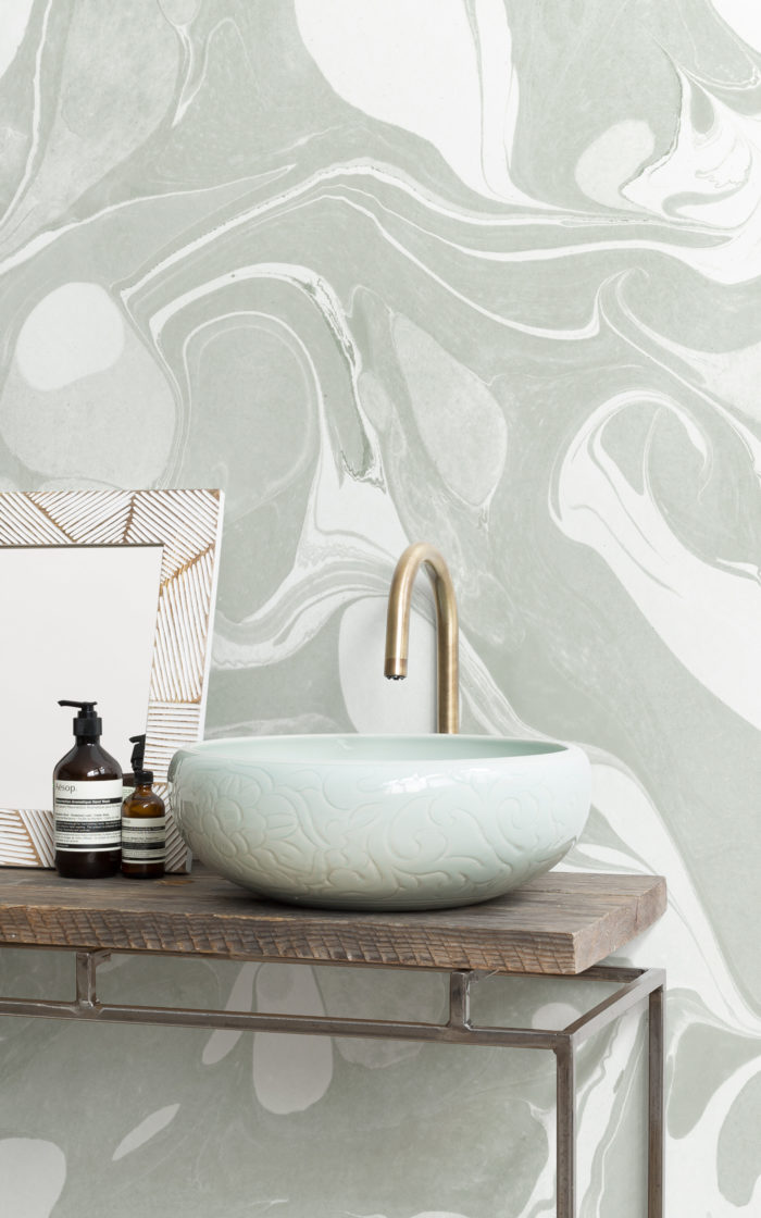 Swish-Sage-marbled-wallpaper