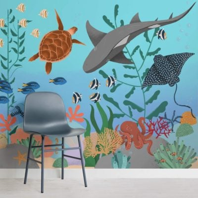 Under the Sea children's Wallpaper