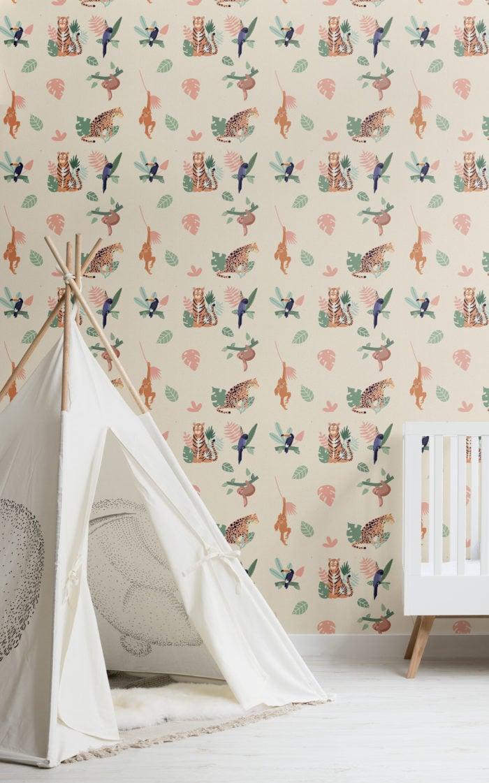 sophisticated-nursery-wallpaper