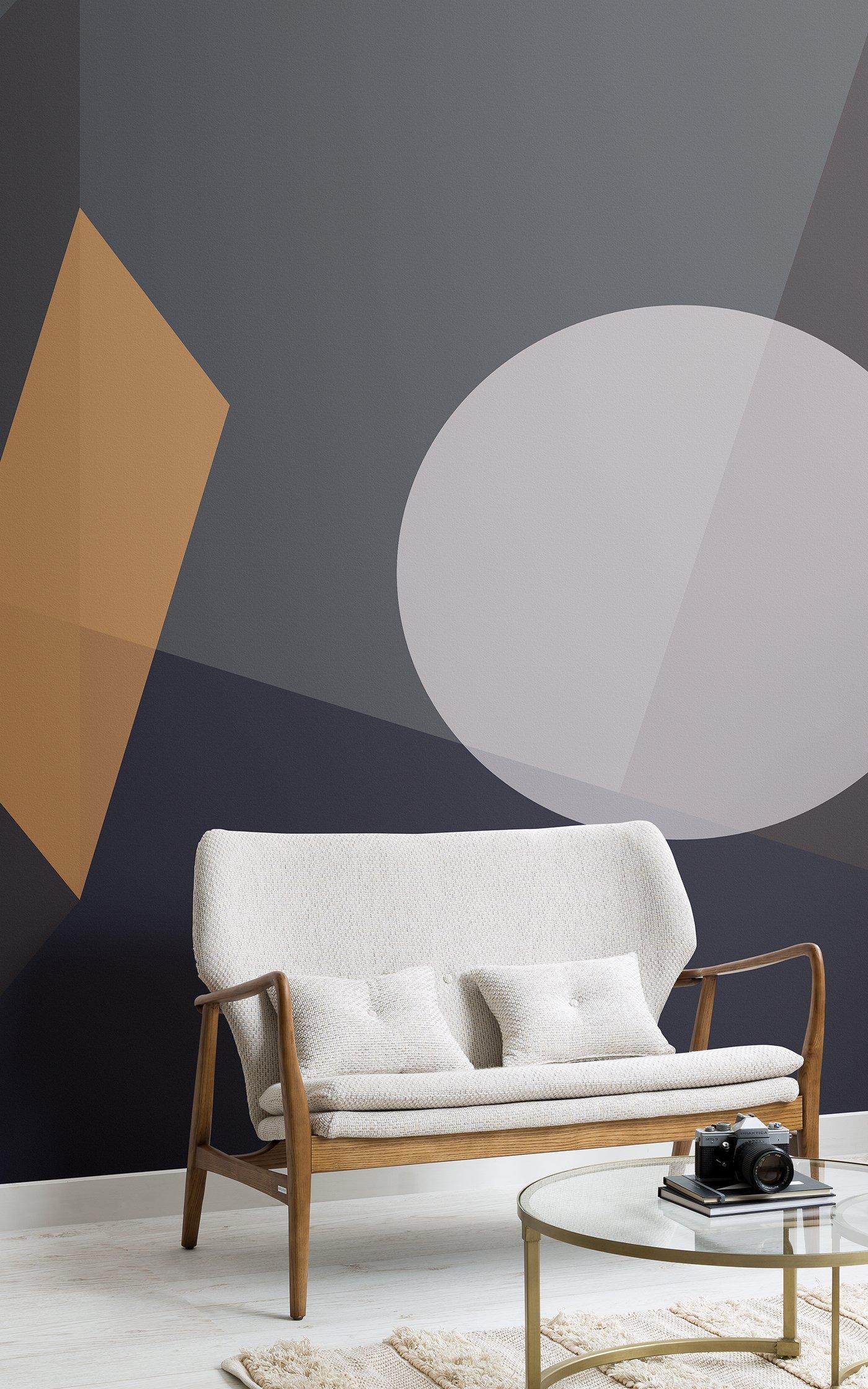 dark abstract shapes wallpaper
