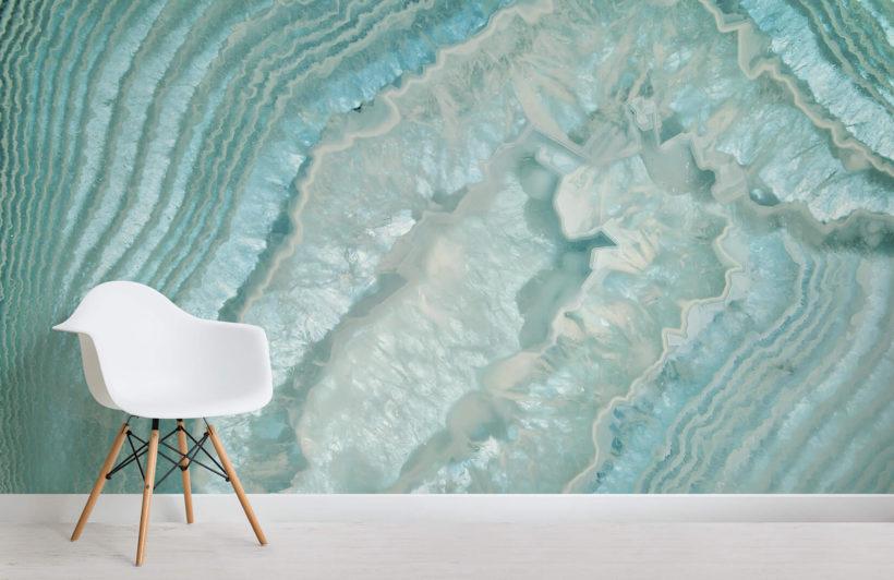 agate-crystals-room-wall mural-kj