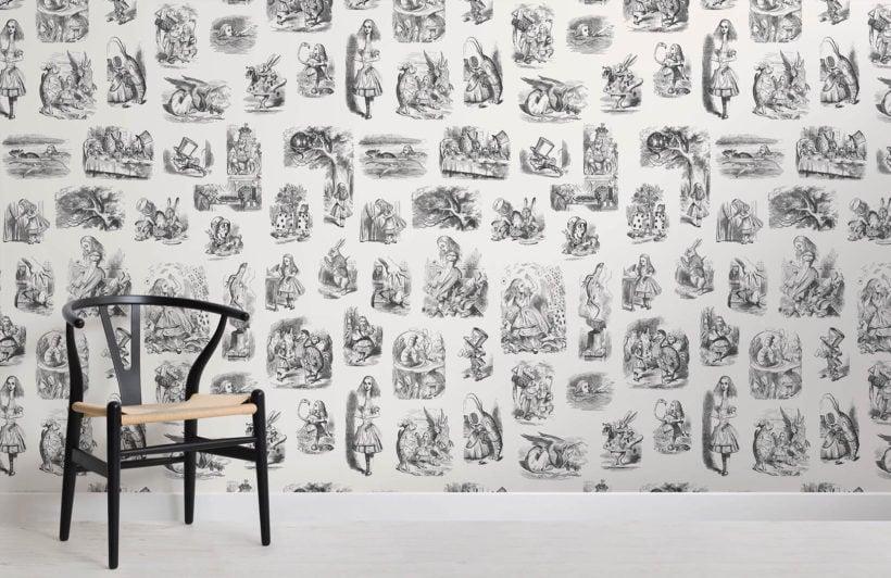 alice-in-wonderland-childrens-room-wall-murals