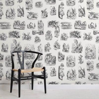 alice-in-wonderland-childrens-square-wall-murals