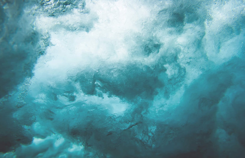 andaman-photographic waves-plain-wall mural-kj