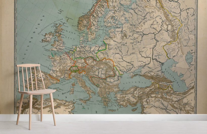antiqued-europe-map-room-wall-murals