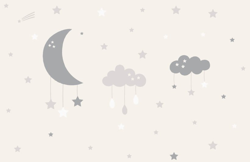 baby-clouds-and-moon-nursery-plain-wall-mural