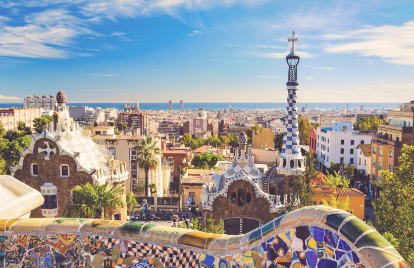 barcelona-park-guell-city-plain-wall-murals