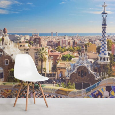barcelona-park-guell-city-square-wall-murals