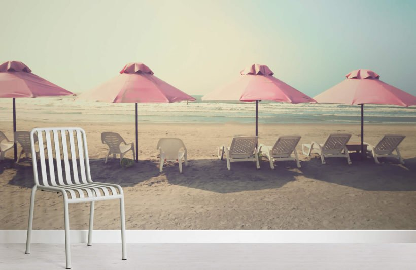 beach-umbrella-room-wall-murals