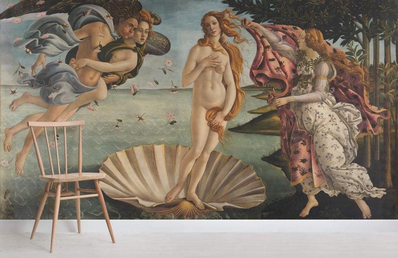 birth-of-venus-botticelli-art-room-wall-mural