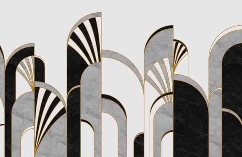 black-and-white-art-deco-print-arches-wallpaper-mural