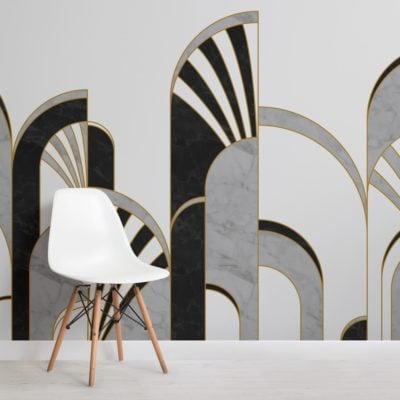 black-and-white-art-deco-print-arches-wallpaper-mural