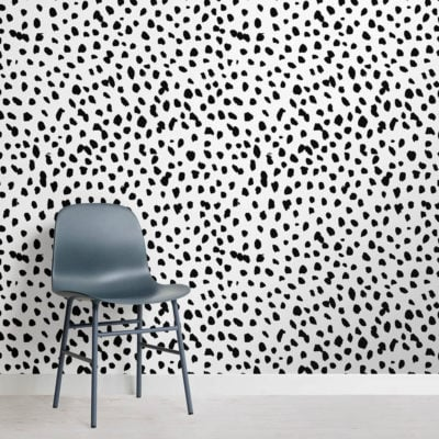 black-and-white-speckle-square-wall-mural