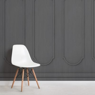 black-arched-georgian-wood-panel-effect-wallpaper-mural