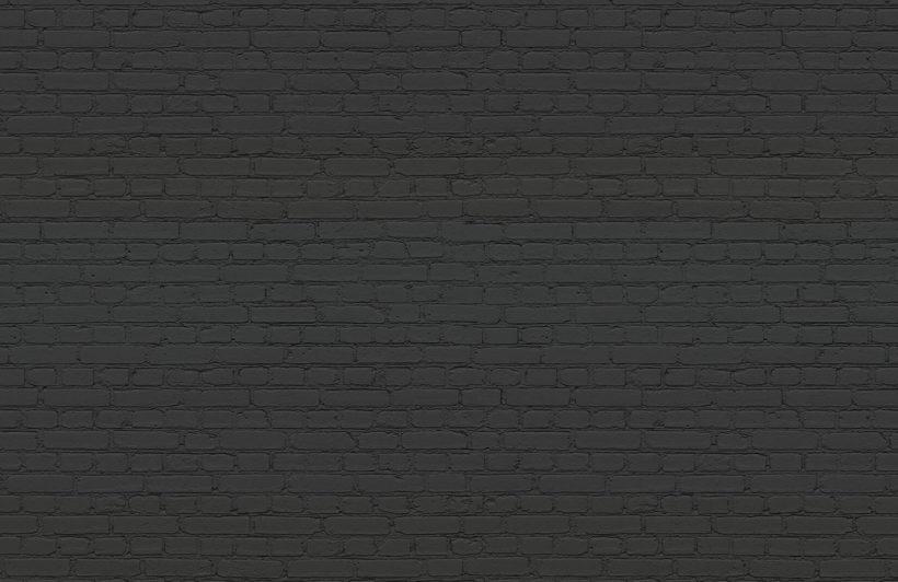 black-brick-plain-wall-mural