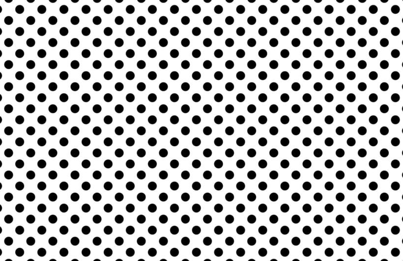 black-polka-dots-design-plain-wall-murals