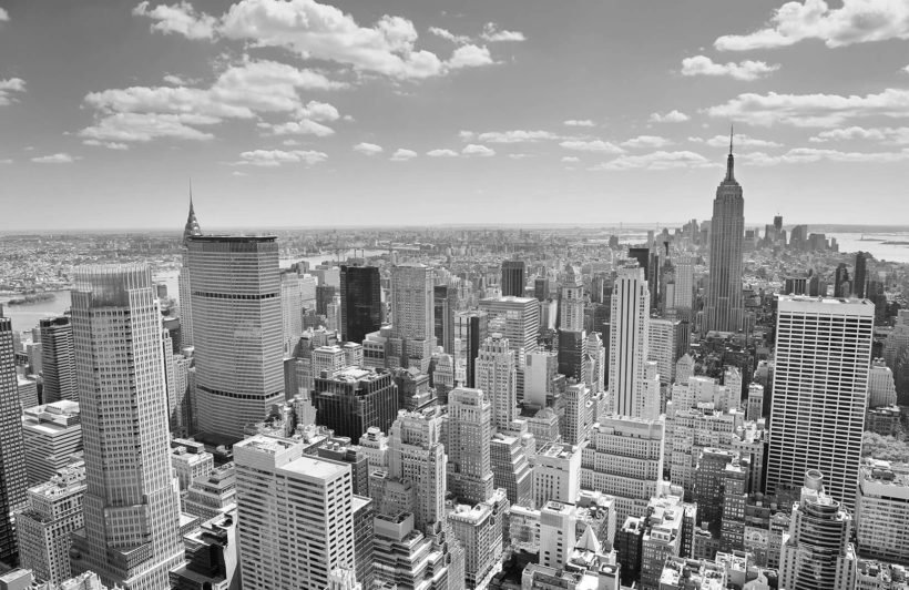 black-white-new-york-panorama-city-plain-wall-murals