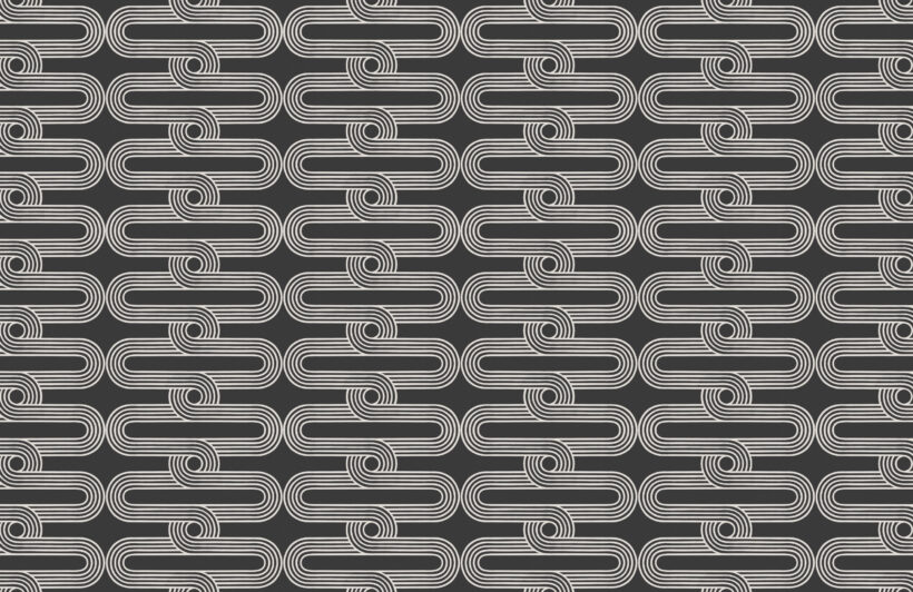 black-&-white-stripes-and-curves-repeat-pattern-wallpaper