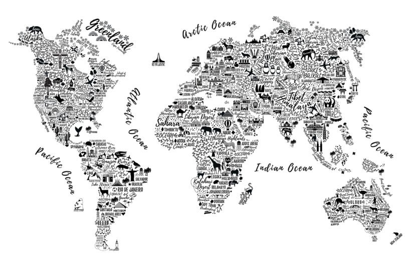 black-white-typography-map-wallpaper-mural-Square