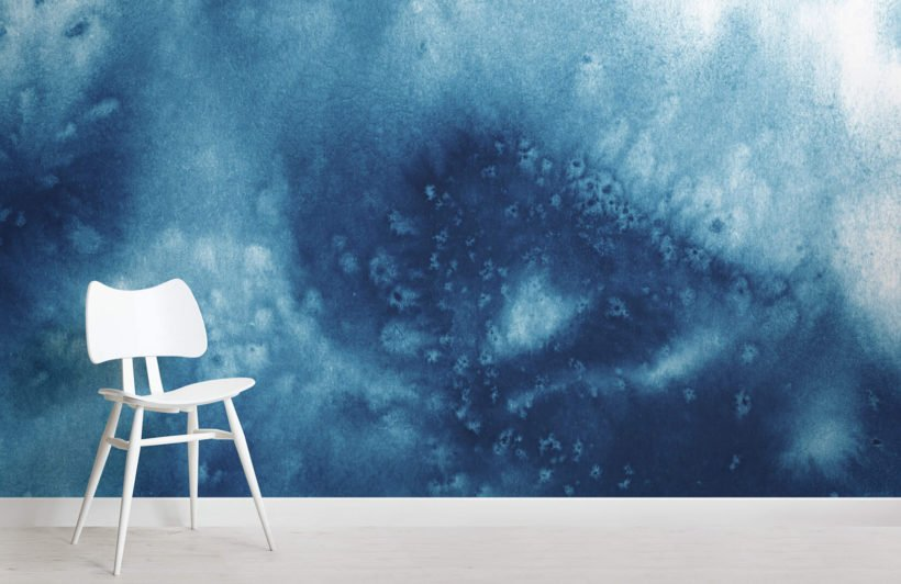 blue-abstract-watercolour-design-room-wall-murals