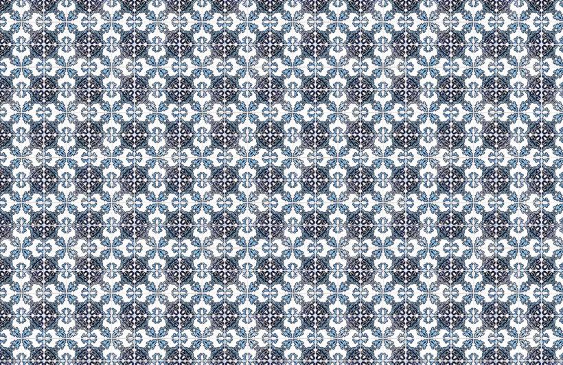blue-black-portuguese-tile-textures-plain-wall-murals