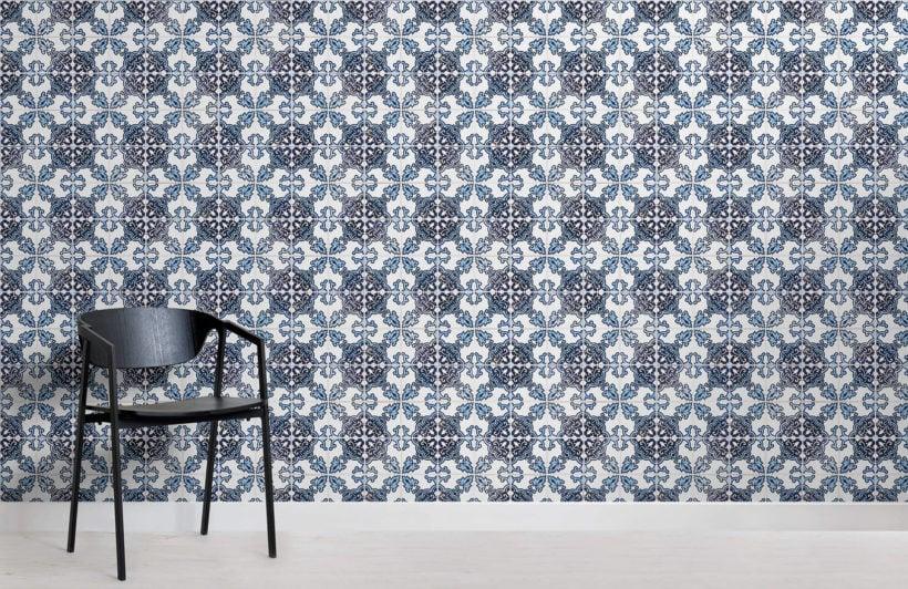 blue-black-portuguese-tile-textures-room-wall-murals