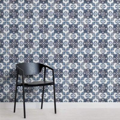 blue-black-portuguese-tile-textures-square-2-wall-murals