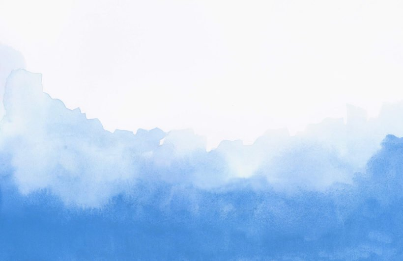 Blue Blend Watercolour