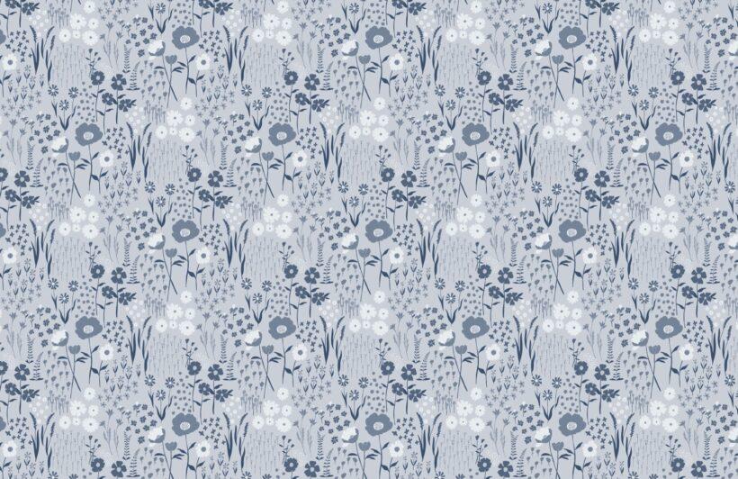 blue-botanical-flowers-repeat-pattern-wallpaper