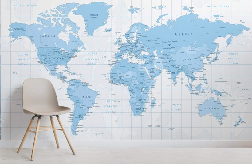 blue-detailed-map-room-wall-murals