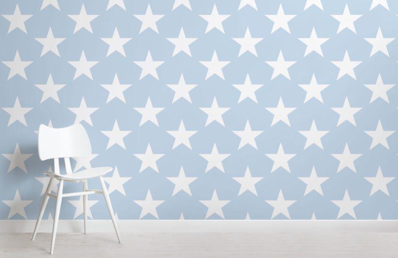 blue-large-star-wallpaper-mural
