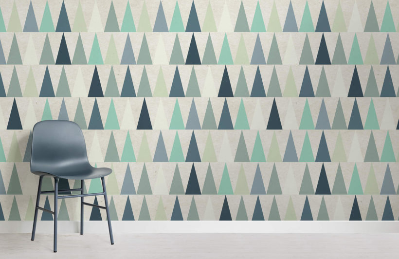 blue-triangles-design-room-wall-murals