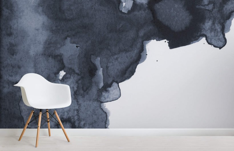 bold-navy-blue-watercolour-watercolour-room-kj-wall-mural