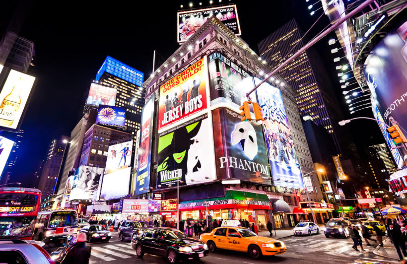 busy-times-square-city-plain-wall-murals